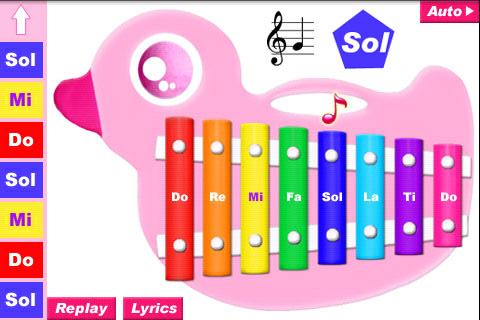 Xylophone xylophone chords for kids : Cult of Android - Monday's Apps For Kids: Move Over Mozart | Cult ...