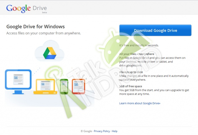 Cult of Android - Google Drive To Offer 5GB Of Free Storage? | Cult