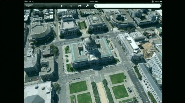 Cult of Android - New UI And Amazing 3D Images Coming Soon ... Google Maps D View Android on google earth live satellite view, google maps helicopter view, google earth street view usa, google maps aerial satellite view,
