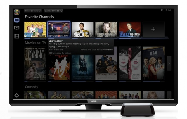 vizios crack at a google tv set top box has gone up for pre order the 99 co star looks to be hit with its compact design easy set up and list of - Visio Costar