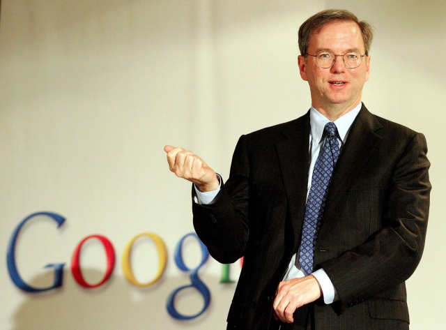 Schmidt insists Apple and Google are very good friends.