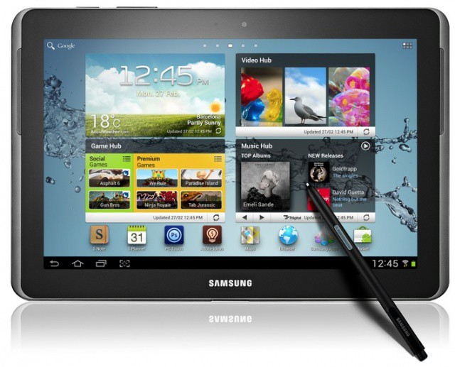 The Galaxy Note 10.1 could be about to get a little brother.