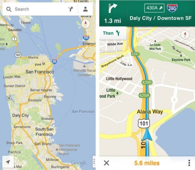Cult of Android - Google Admits New Maps App For iOS Is Better Than Google Map App Ios on