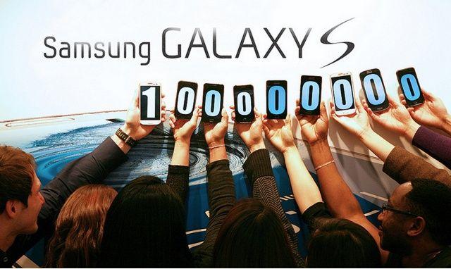 Samsung-100M-Galaxy-S-sales