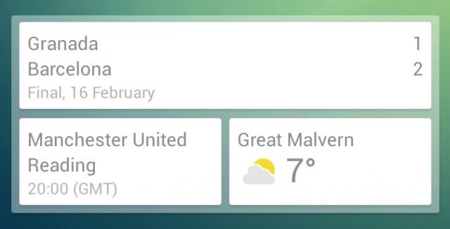 Google-Now-widget