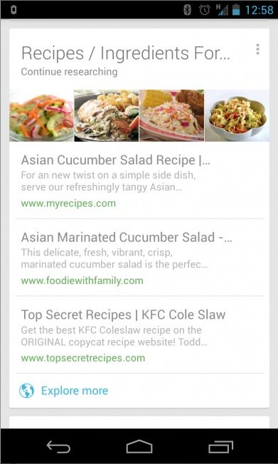 Google-Now-recipes