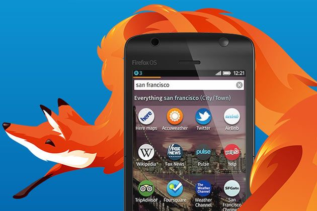 And one of those options is supposed to be Firefox OS.