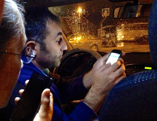 We simply couldn't get a Turkish SIM card to work with our Android phone. While trying to make it across Istanbul during a storm, we had to ask our driver to use his phone to get directions.