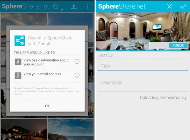 Share A Photo Sphere Without Using Google+ [How-To]