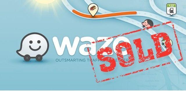 Waze-sold