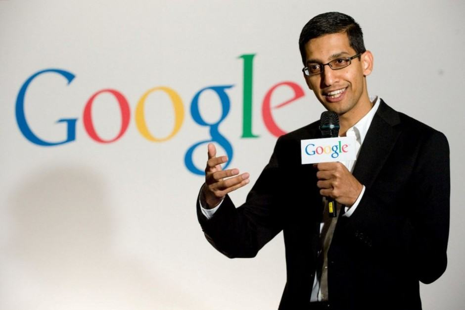 Sundar Pichai is the man in the know at Google I/O. Photo: Google