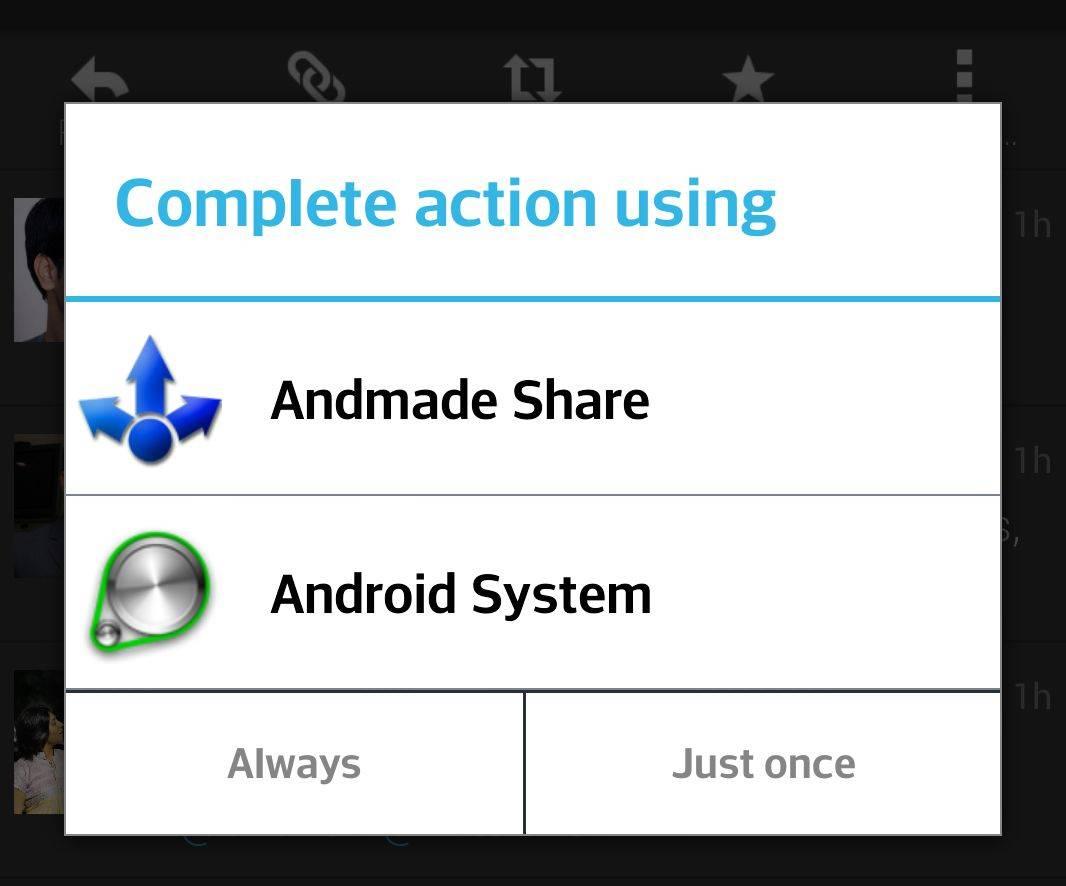 Screenshot for better understanding: android menuitem android-actionbar-compat  optionmenu