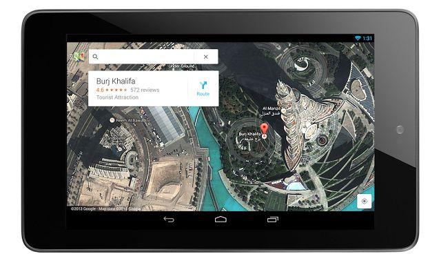 Google-Maps-tablet