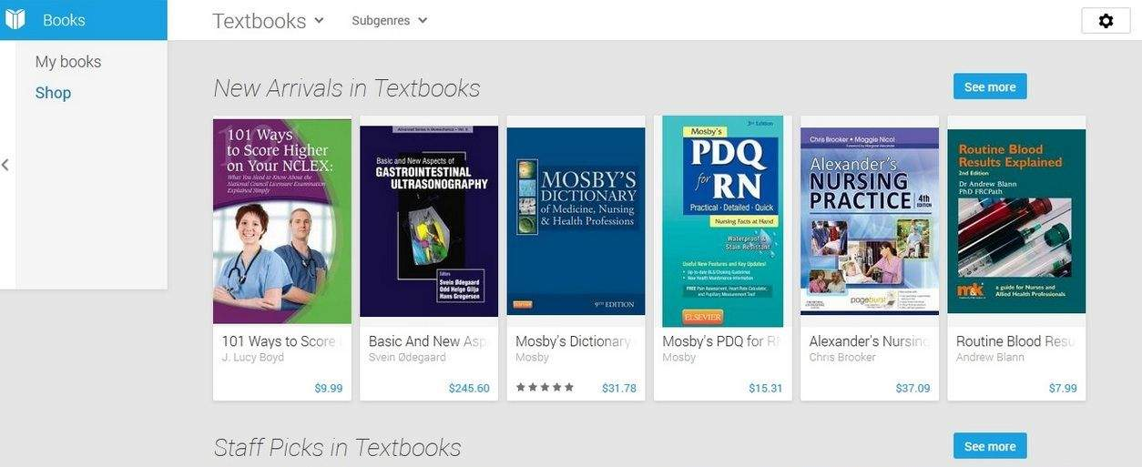 Cult of Android - Textbooks Now Available Through Google