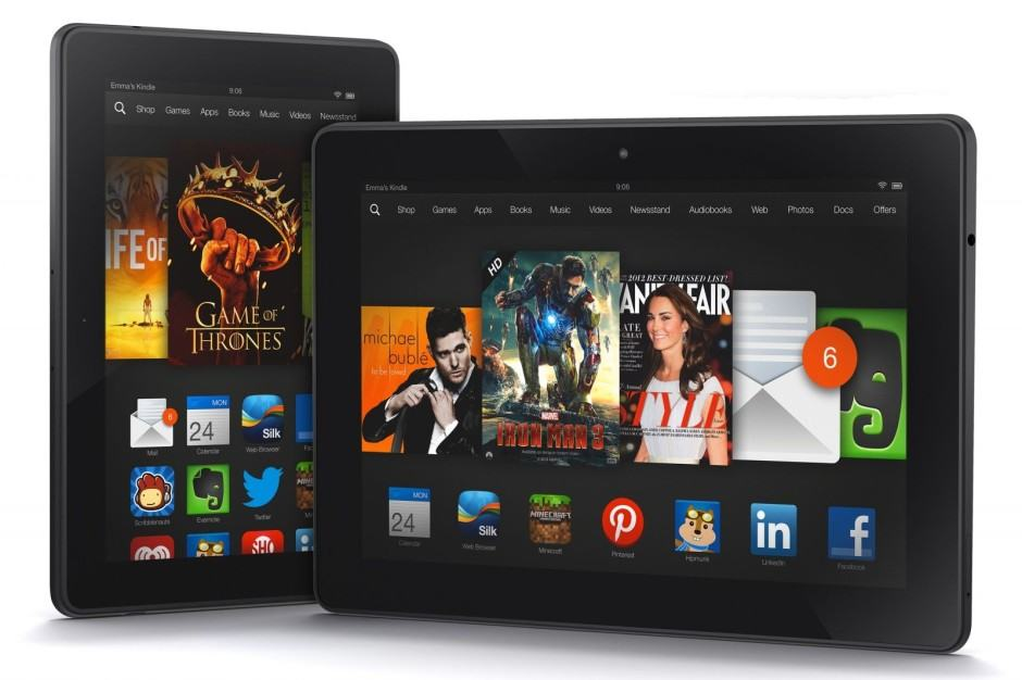 Custom ROMs could soon be coming to the Kindle Fire HDX. Photo: Amazon