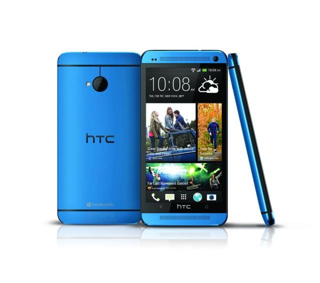Metallic Blue HTC One