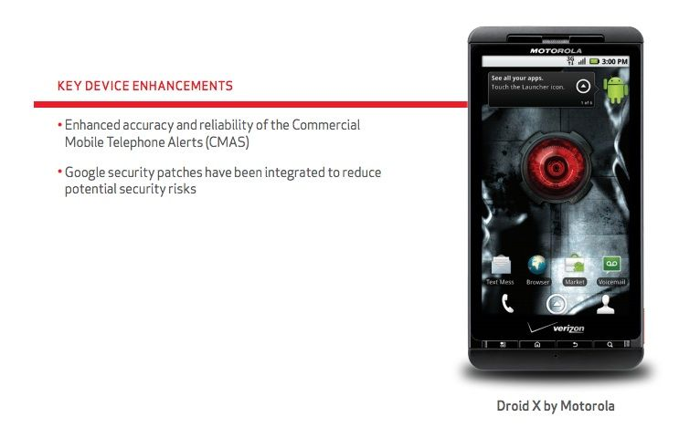 Cult of Android - Verizon Pushing Out Security Update For Motorola