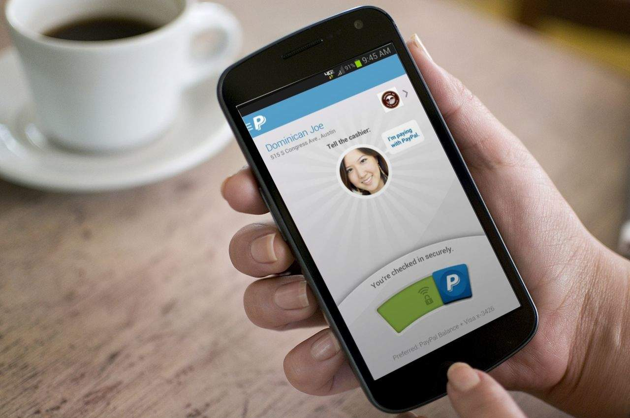 Cult Of Android Paypal For Android Gets Bold New Design Check Ins