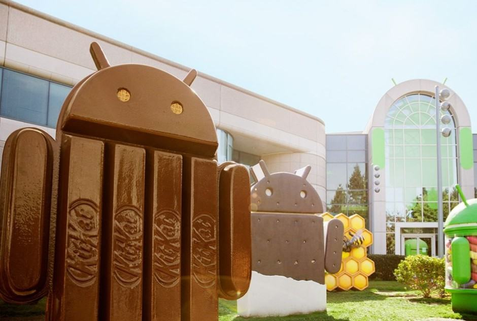 KitKat isn't quite the biggest, but it's getting there. Photo: Google