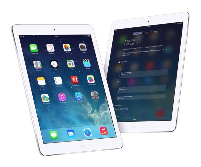 The 64-bit iPad Air will have competition from Android-powered rivals next year.
