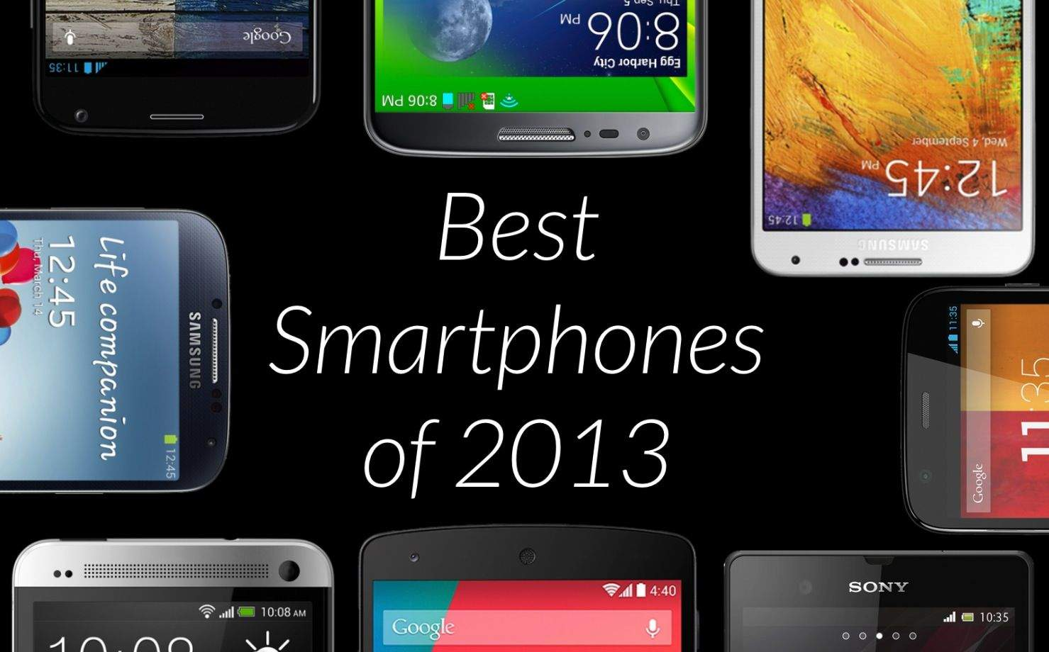 worry: top 10 best android smartphones 2013 important not exclude