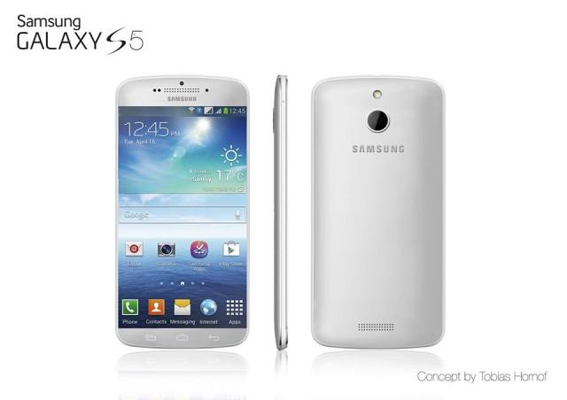 A Galaxy S5 concept by Tobias Hornof.