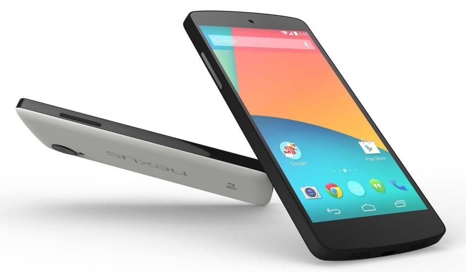 The Nexus 5 is more affordable than ever! Photo: Google
