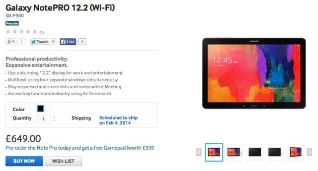 Samsung-NotePRO-12.2-pre-order