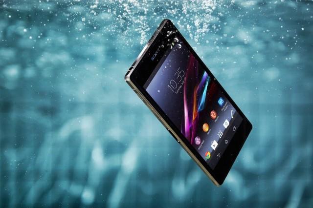 Sony-Xperia-Z1S-underwater