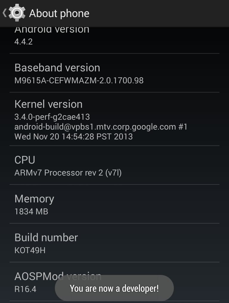 Cult of Android - Enable ART In Android 4 4 KitKat [How-To]   Cult