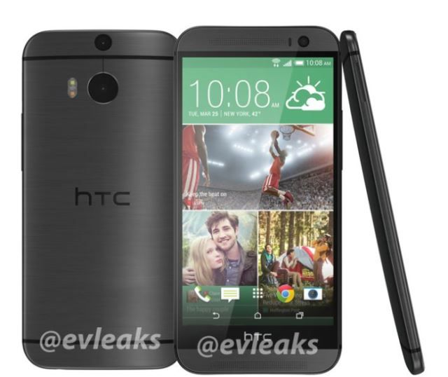 All New HTC One Gray
