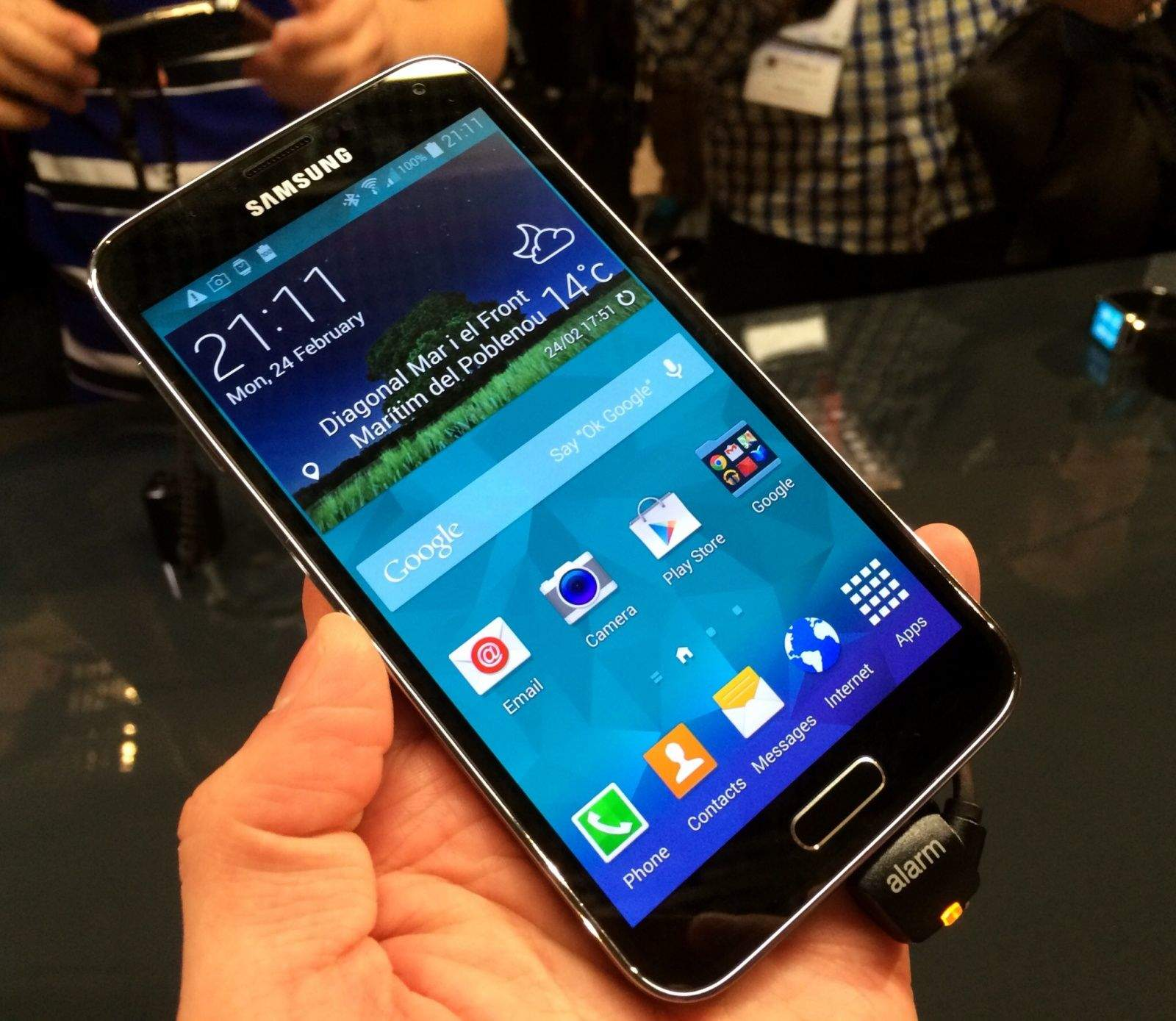 Samsung galaxy s5 unveiled - Samsung Is Known To Pre Load A Lot Of Applications A K A Bloatware On Its Galaxy Devices When The Galaxy S4 Was Unveiled Last Year The Company Received A