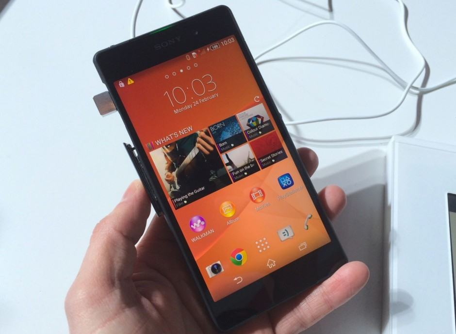Xperia Z2 gets a taste of N. Photo: Killian Bell/Cult of Android