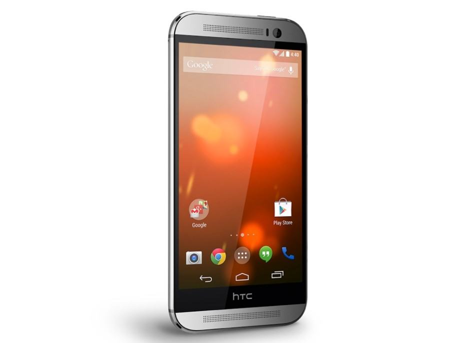 The Google Play Edition One M8 is no more. Photo: HTC