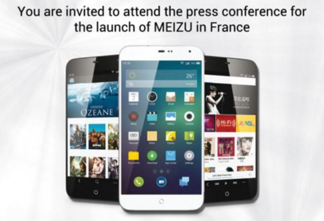 Meizu Event France