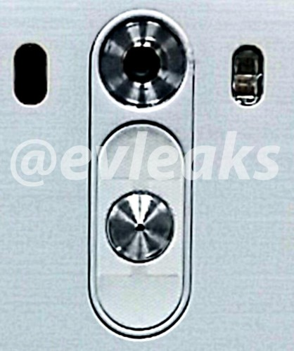 The LG G3's redesigned buttons.