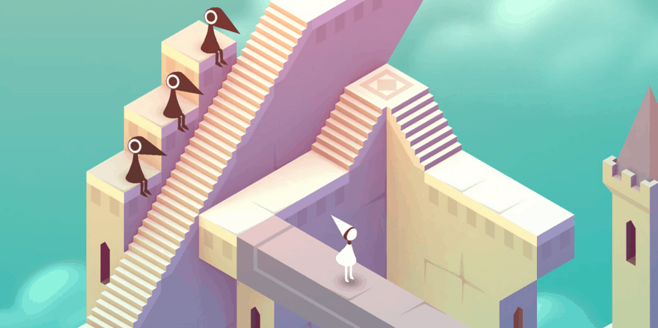 Monument Valley is a must-have for any mobile gamer. Screenshot: Ustwo