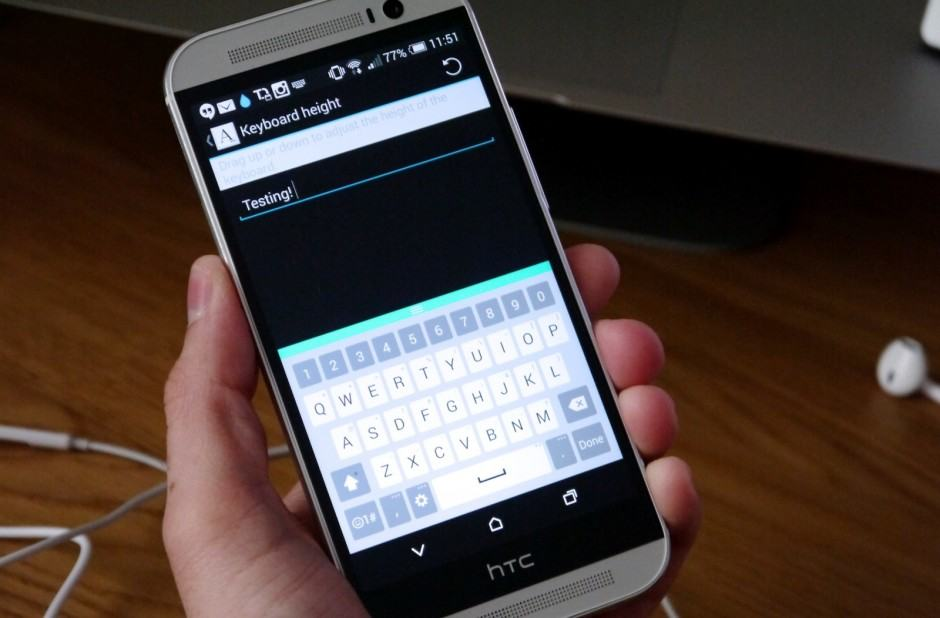 LG G3's resizable keyboard now available to rooted Androids