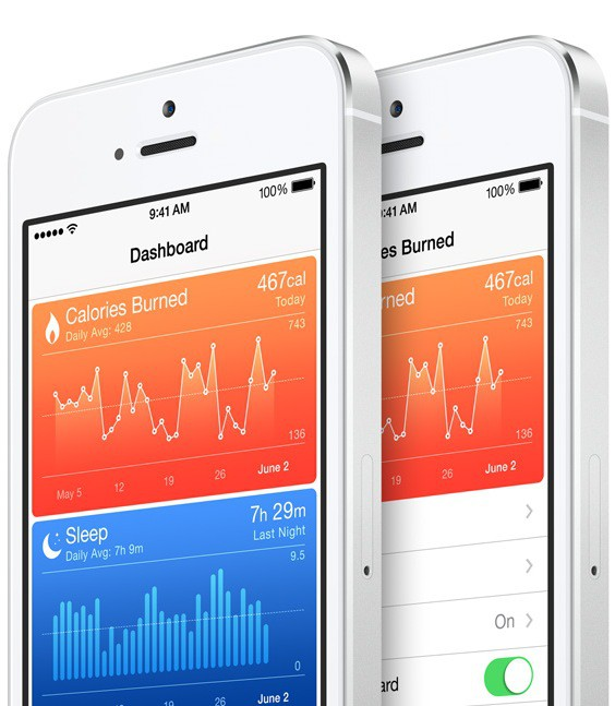 Health lets you track all your fitness metrics.