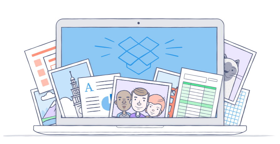 Dropbox Pro users now get 1TB of storage as standard. Image: Dropbox.