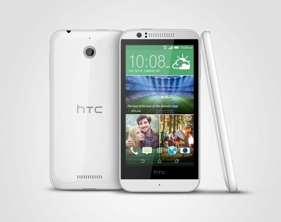 Meet HTC's first budget-friendly LTE smartphone. Photo: HTC.
