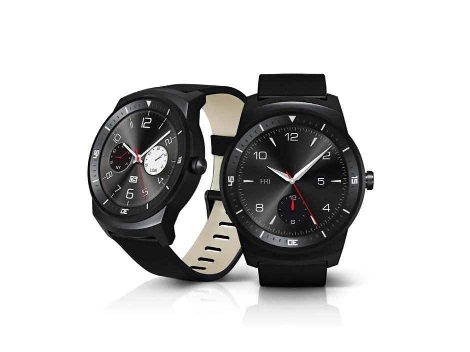 The G Watch R is LG's answer to the Moto 360. Photo: LG.