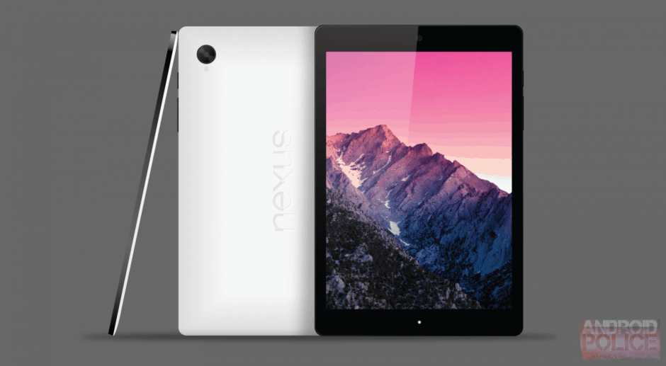 A Nexus 8 mockup, courtesy of Android Police.