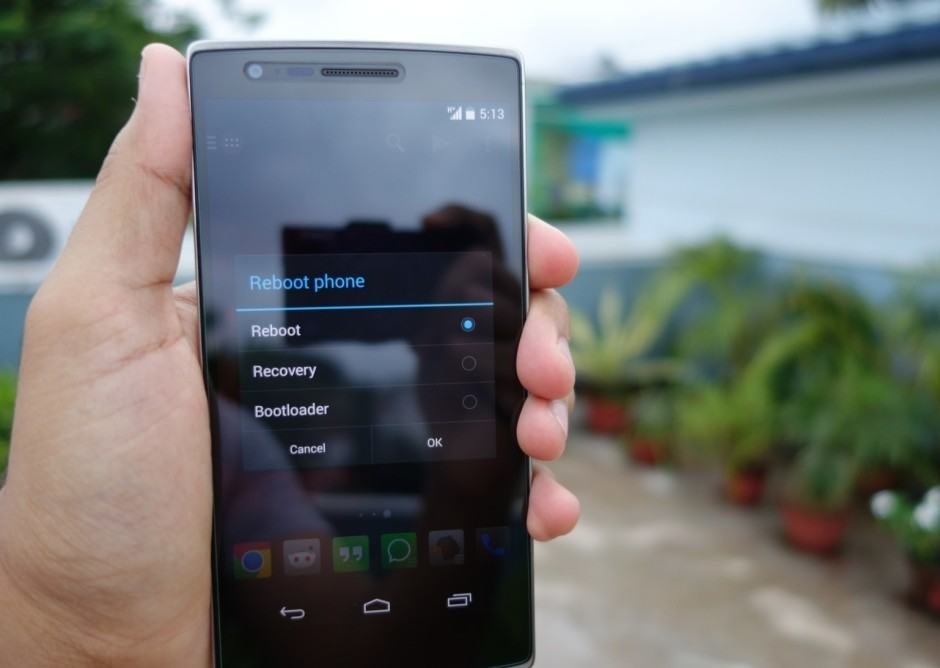 Get your OnePlus One touchscreen fix now. Photo: Rajesh Pandey/Cult of Android