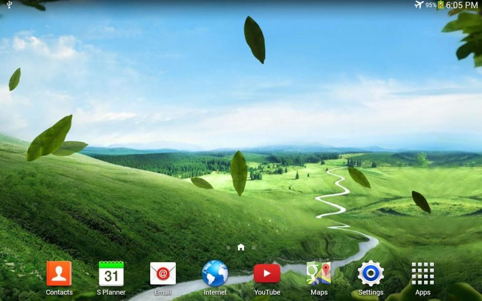 Galaxy S4 Nature Live Wallpaper Image Play Store