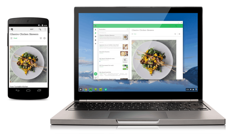 Chrome OS is being merged into Android. Photo: Google.
