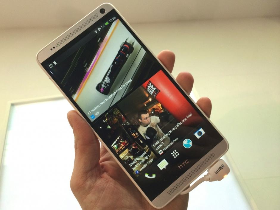 The original HTC One Max. Photo: Killian Bell/Cult of Android