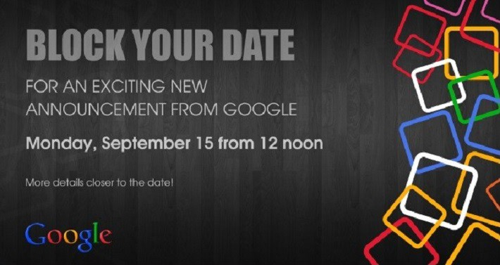 Google's latest event invite. Image: Android Authority.