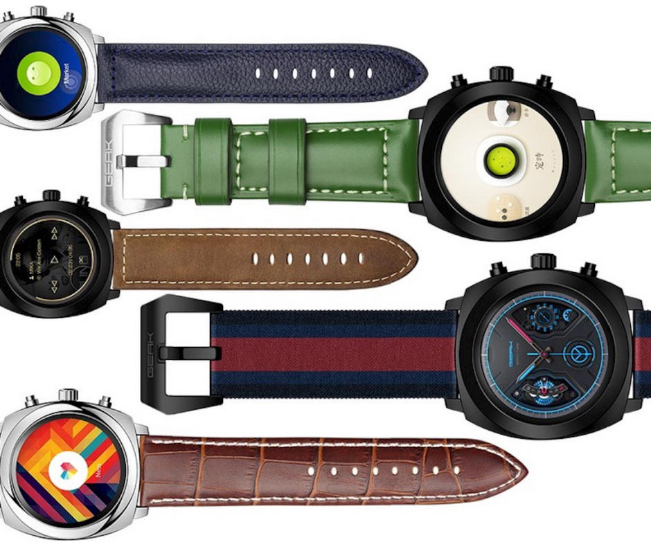 Geak Watch 2 could be the most intelligent smartwatch yet. Photo: Geak