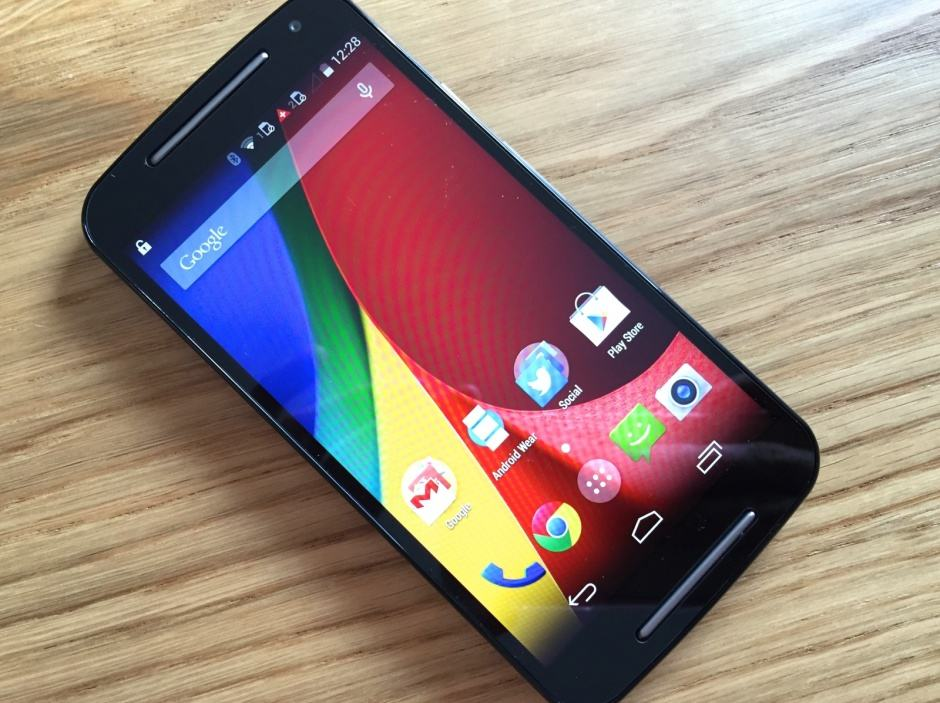 The second-generation Moto G. Photo: Killian Bell/Cult of Android